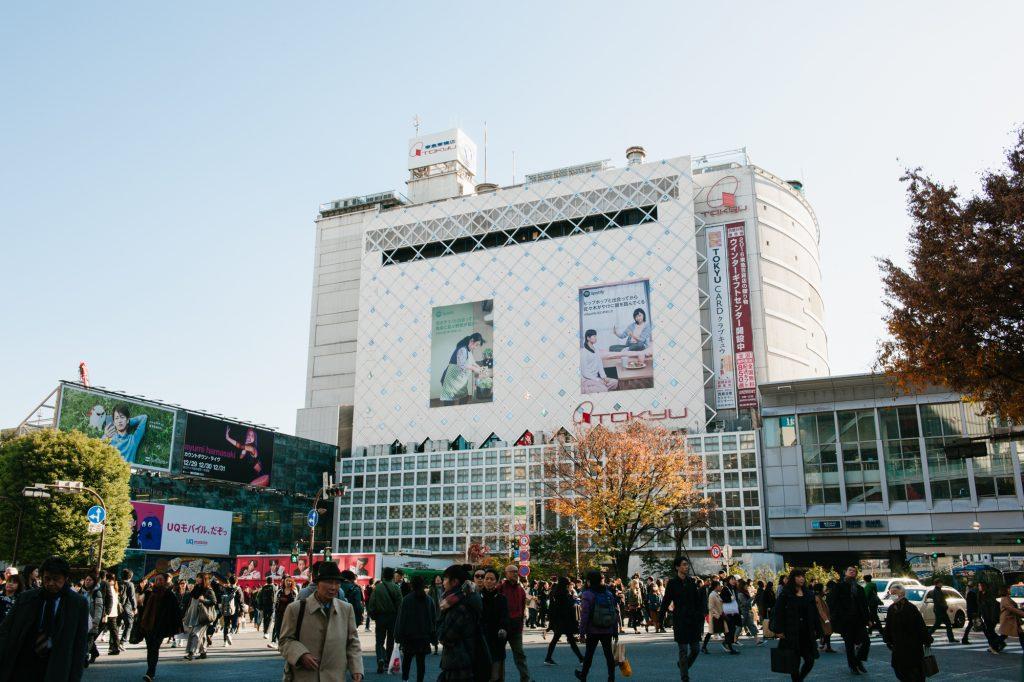 Spotify「キミの新しい音楽」渋谷駅