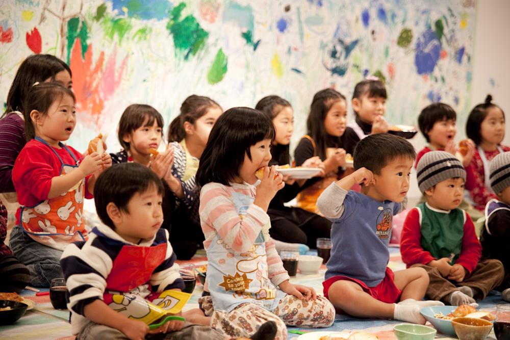 あきちのがっこうvol.8「最後の晩餐」at KANZANあきちギャラリー 2010